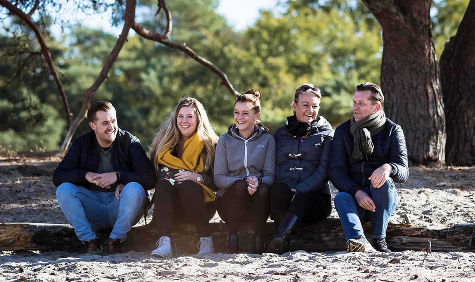 Soest Soesterduinen Familiefoto
